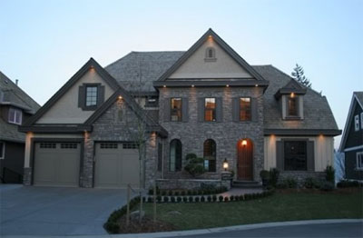 An example of a new Deerwood Estates home in the Abbotsford real estate market