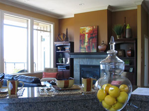 The elegant interiors of the resale Chilliwack homes at The Falls Emerald Ridge are clear