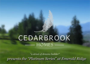 Cedar Brook Homes presents the Emerald Ridge home sites and Chilliwack single family homes at the Falls Golf & Country Club real estate development