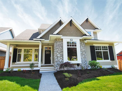 Beautiful Craftsman style architecture and beautiful interiors make the pre-construction rancher homes at Ocean Bluff West South Surrey different from its competition