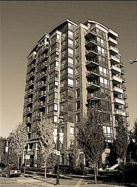 The boutique One Park Lane North Vancouver condo tower provides great re-sale Lower Lonsdale condos as well as rental apartments