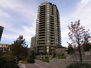 North Vancouver Sky Tower Condos in Lower Lonsdale real estate resale market and providing affordable rental apartments