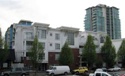 The Coronado apartment condos in Lower Lonsdale rental apartment market are available now