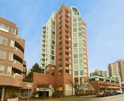 One of the most sought after resale condo North Vancouver properties in Lower Lonsdale, The Olylmpic features affordable rental suites with views