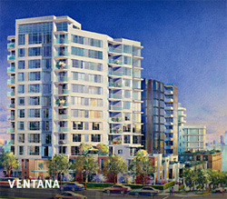 The pre-construction Ventana North Vancouver condominium tower residences are now complete and available in North Vancouver re-sales condo listings