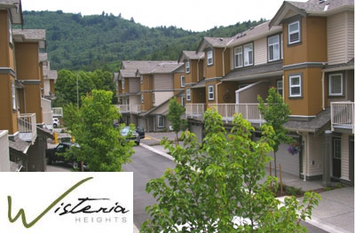 The Chilliwack Wisteria Heights on the Promontory is a new Chilliwack real estate development featuring family townhomes and executive townhouses for sale